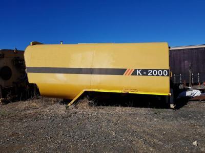 2012 Klein K-2000 Water Tank