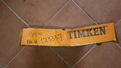 Timken LM241149 Tapered roller bearing
