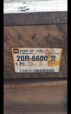 Caterpillar 20r6600 Pump